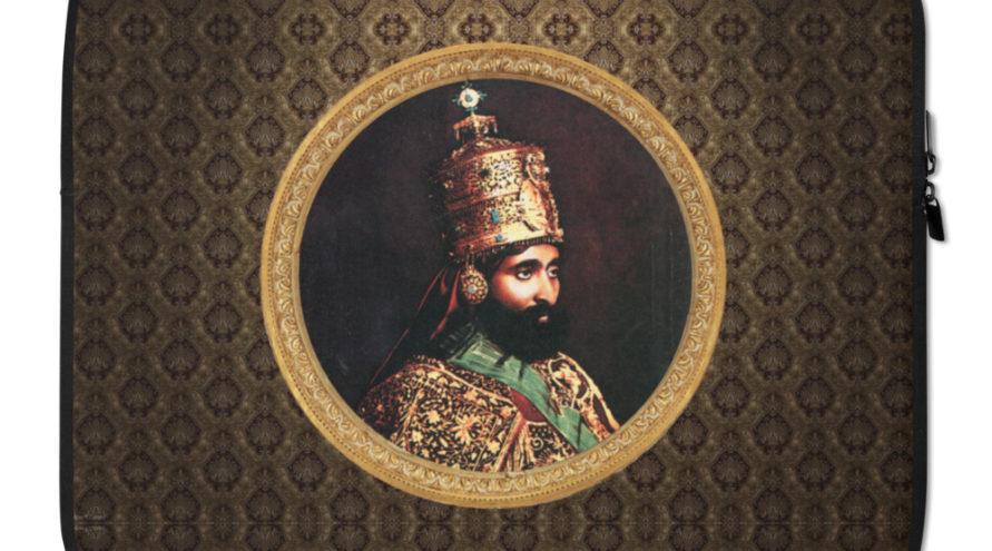 Haile Selassie Laptop Tasche