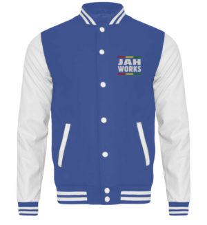College Jacket - Jah Works Jah Bless College Jacket - 6751