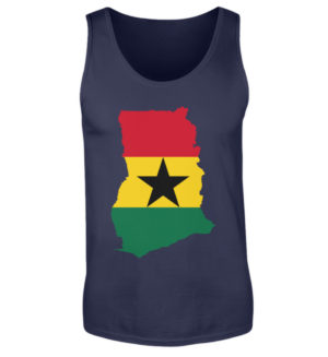 غانا ريغي روتس تانك توب - رجال تانك توب -198