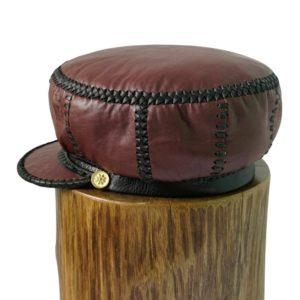 Rasta Cap Leather