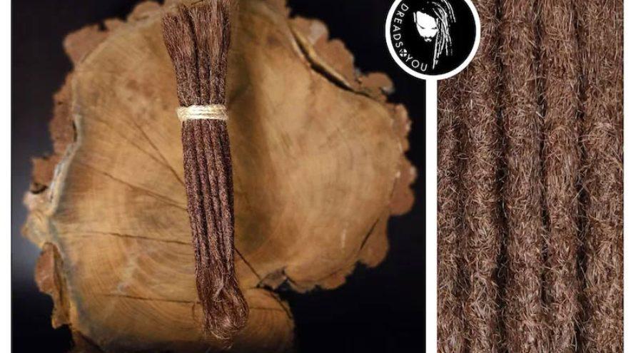 Dreadextensions mahogni brun