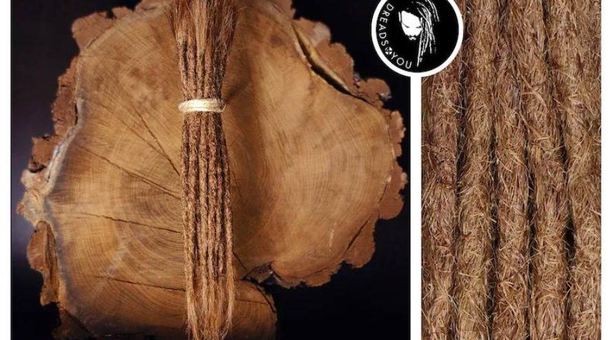 Dreadextensions brun alun