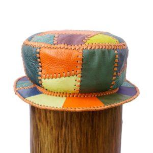 Negozio di cappelli da pescatore firmati in pelle stile Prince Crown Kangol