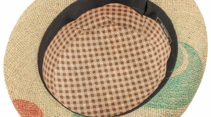 Café bombón melon jute hatt