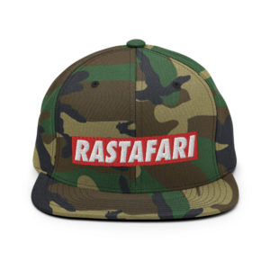 Rastafari Snapback Rasta Cap