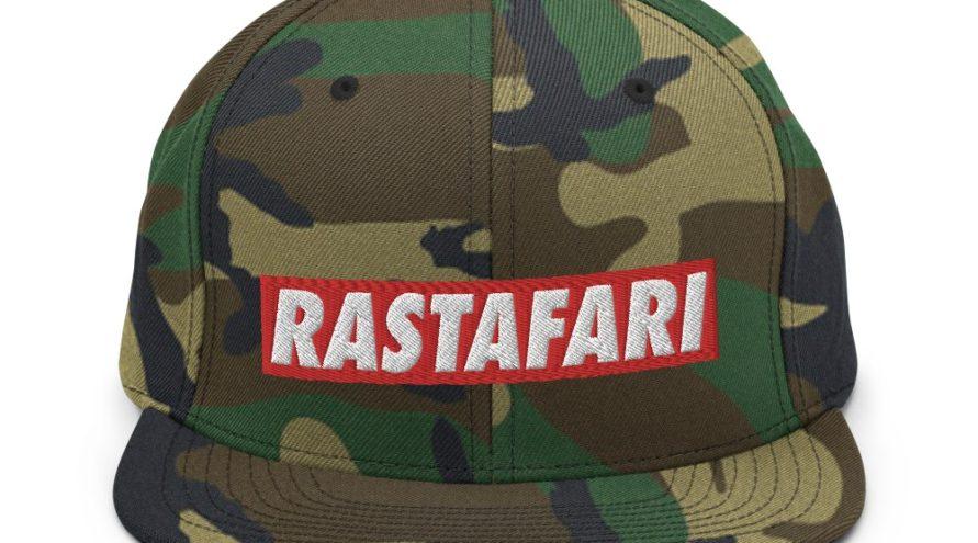 Capac de camuflaj rastafarian