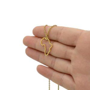 Afrika Halskette Gold kaufen