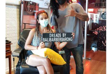 Balibarber dreadlocks Thanks for visit today kak cantik @christella_werner  Drea…