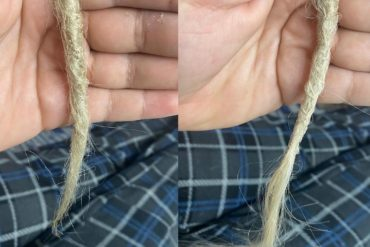 Customizing dreads is a huge flex for me. Something about walking around with my ...