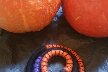 **FREE SHIPPING** TRICK OR TREAT  A bit of seasonal fun from Feito Á Mão.  Spook…