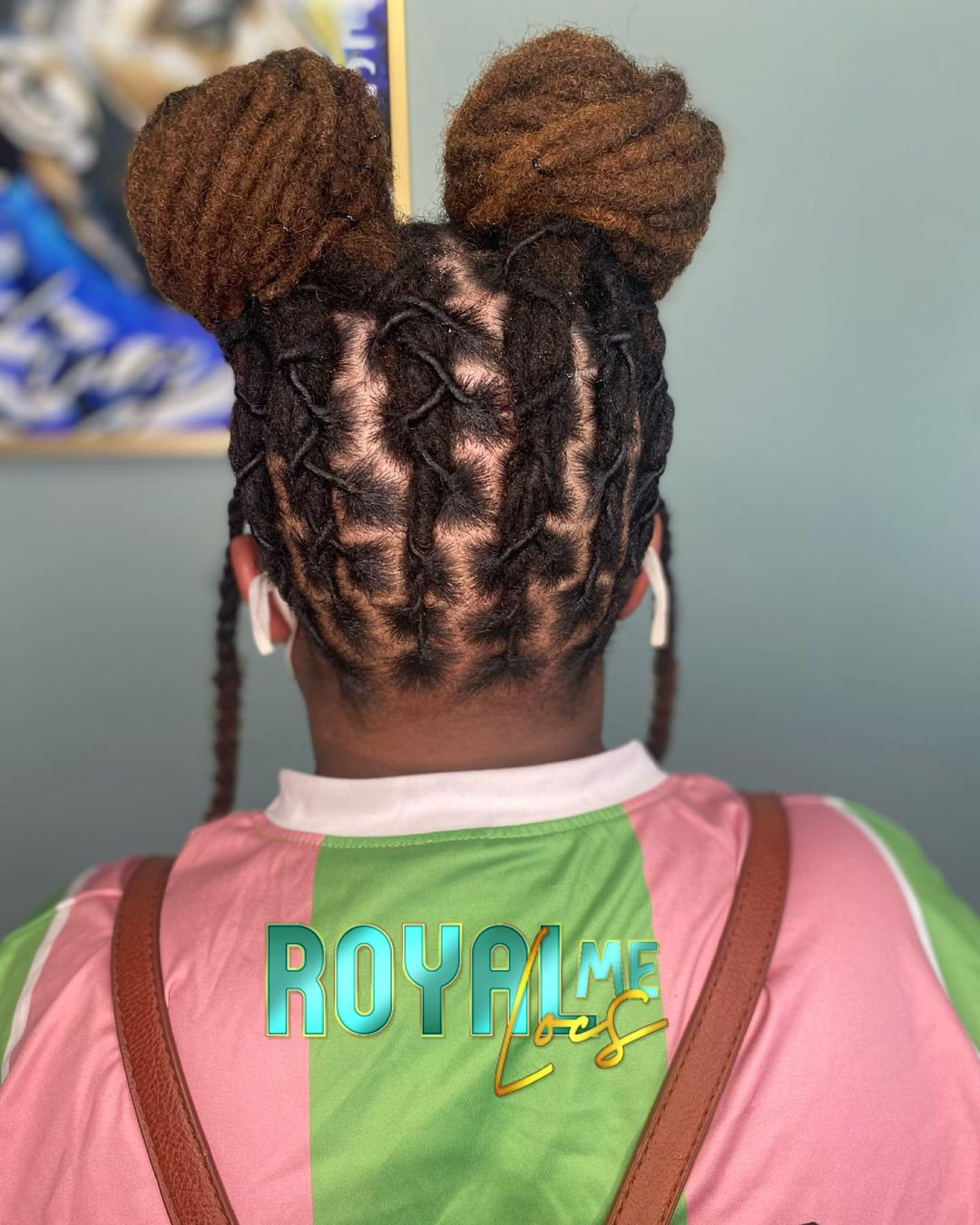 ITS SOMETHING ABOUT THEM MICKEY MOUSE BUNS..    . . . #locs #locd #locstyles #lo…
