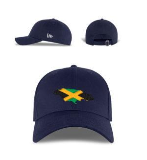 New Era Jamaica Flag Cap - New Era Kappe-7005