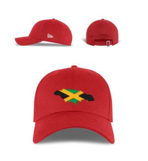 New Era Jamaica Flag Cap - New Era Kappe-7003