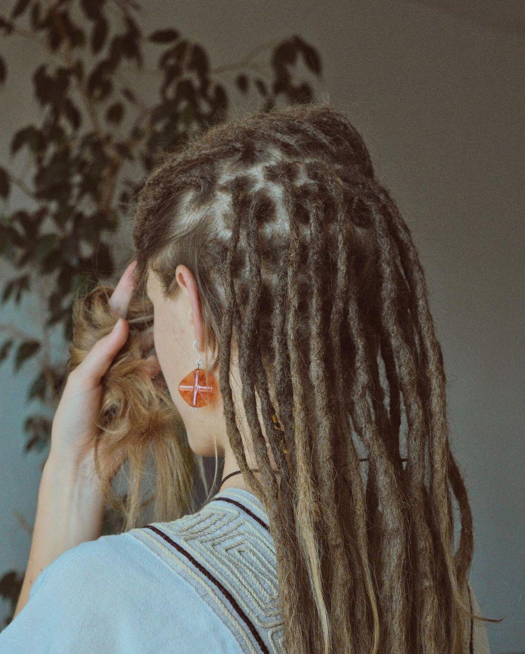 Opravit pre @_daniela_soltes #dreadlocks #dreads #locs #dreadhead #dreadstyles…