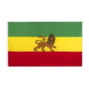 Reggae Rastafari Lion of Judah Flagge kaufen