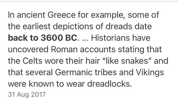 #dreadlocks #celtic #history #kultur ...