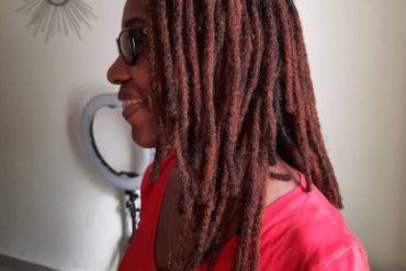 #dreadlocsforwomen #librevillegabon #locsextensions #dreadhead #dreadhair #locna…