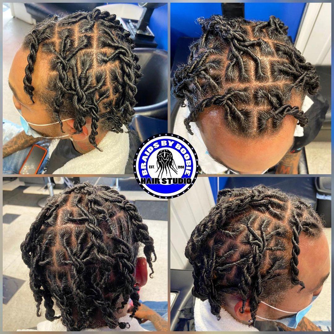 #dreads #men #menhair #mendreads #start #dreads #retwistandstyle #locs #locstyl ...
