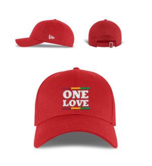 New Era Reggae One Love Cap - New Era Kappe-7003